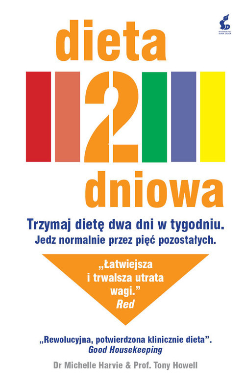 okładka Dieta 2-dniowa, Książka   Michelle Harvie, Tony  Howell