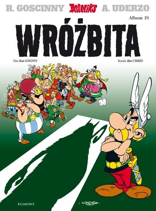 okładka Asteriks Wróżbita Tom 19, Książka   René Goscinny, Albert Uderzo