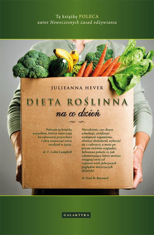 okładka Dieta roślinna na co dzień, Książka | Hever Julieanna