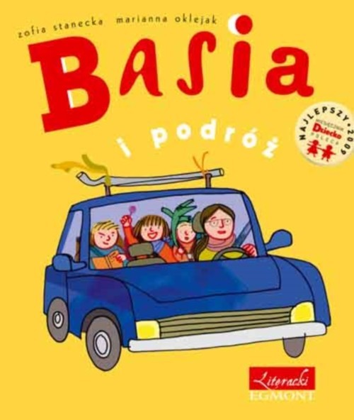 okładka Basia i podróż, Książka | Stanecka Zofia