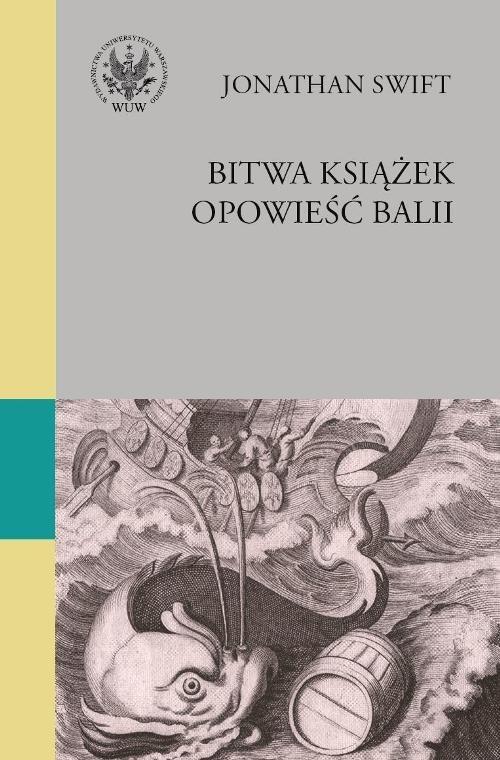 okładka Bitwa książek Opowieść balii, Książka | Jonathan Swift