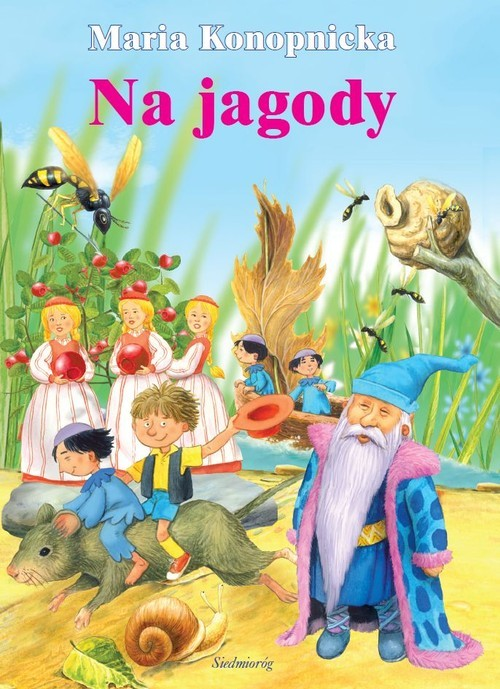 okładka Na jagody, Książka   Konopnicka Maria