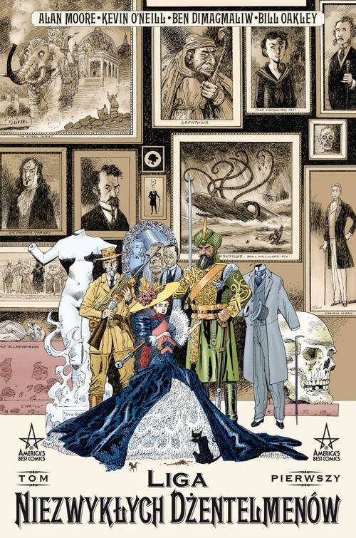okładka Mistrzowie Komiksu Liga Niezwykłych Dżentelmenów Tom 1, Wydanie IIksiążka |  | Alan Moore, Kevin O'Neil