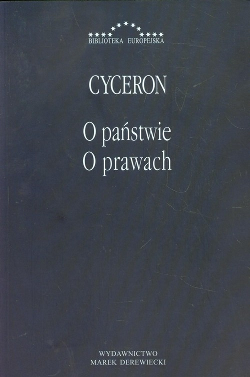 okładka O państwie O prawach, Książka | Marek Tulliusz Cyceron