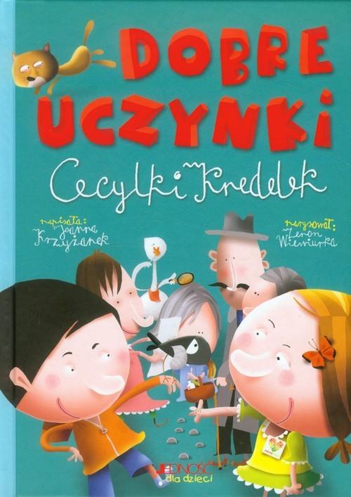okładka Dobre uczynki Cecylki Knedelek, Książka | Joanna  Krzyżanek