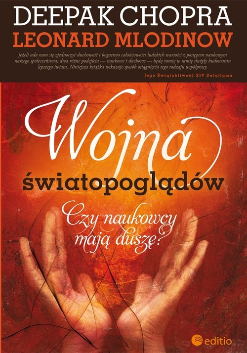 okładka Wojna światopoglądów Czy naukowcy mają duszę?, Książka | Chopra Deepak, Leonard Mlodinow