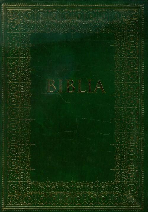 okładka Biblia podróżna zielona, Książka |