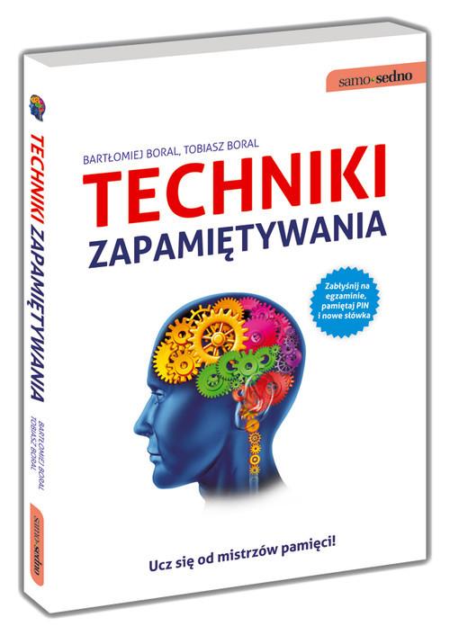 okładka Techniki zapamiętywania, Książka | Bartłomiej  Boral, Tobiasz  Boral