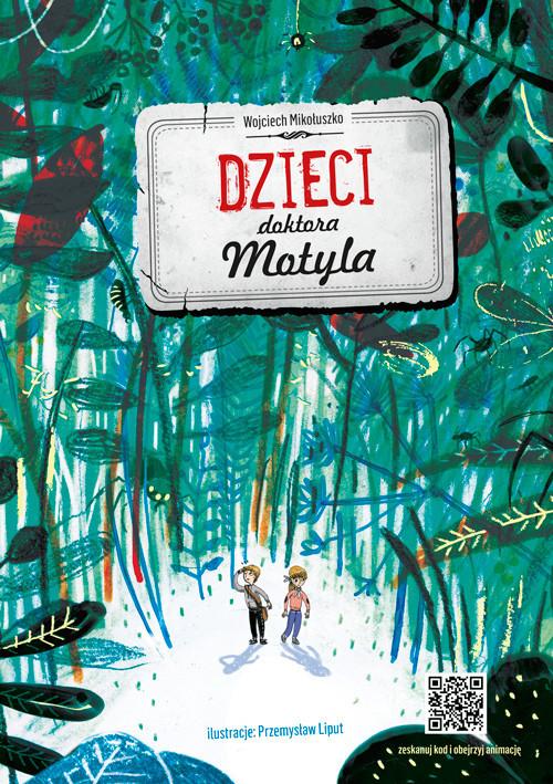 okładka Dzieci doktora Motyla, Książka | Mikołuszko Wojciech