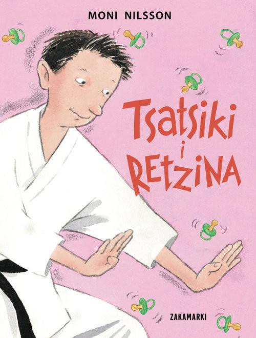 okładka Tsatsiki i Retzina, Książka | Nilsson Moni