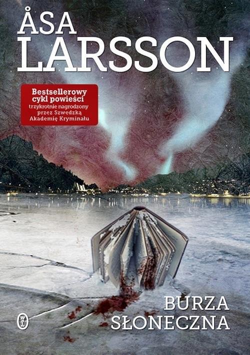 okładka Burza słoneczna, Książka | Larsson Åsa