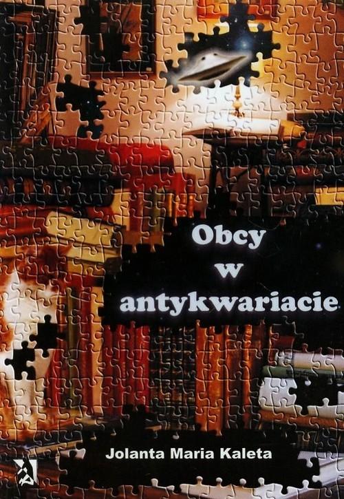 okładka Obcy w antykwariacie, Książka | Jolanta Maria Kaleta