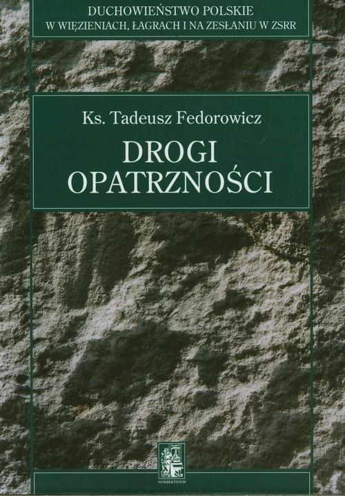 okładka Drogi opatrzności, Książka | Fedorowicz Tadeusz