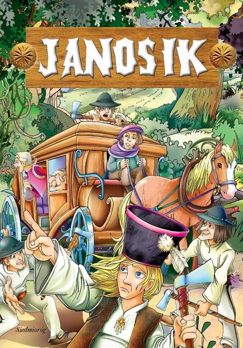 okładka Janosik, Książka | Michałowska Tamara