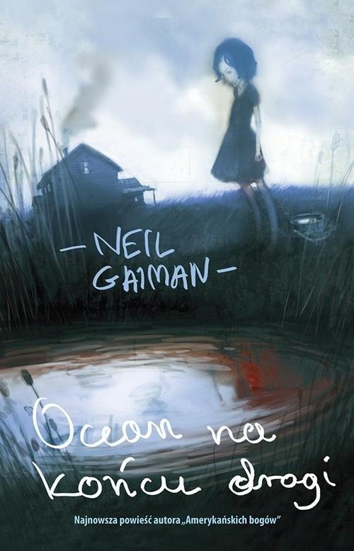 okładka Ocean na końcu drogi, Książka   Neil Gaiman