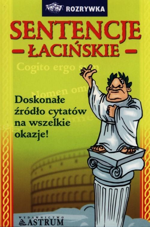 okładka Sentencje łacińskie, Książka | Tkaczyk Anna