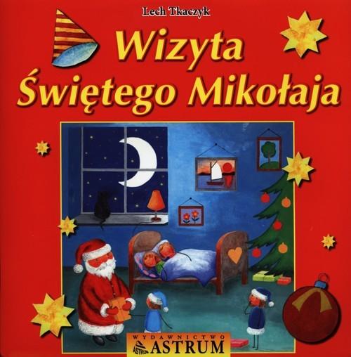 okładka Wizyta Świętego Mikołaja, Książka | Tkaczyk Lech