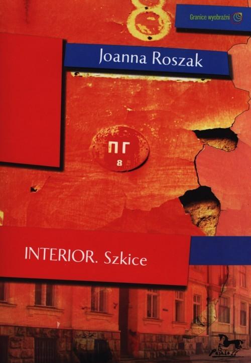 okładka Interior szkice, Książka | Roszak Joanna
