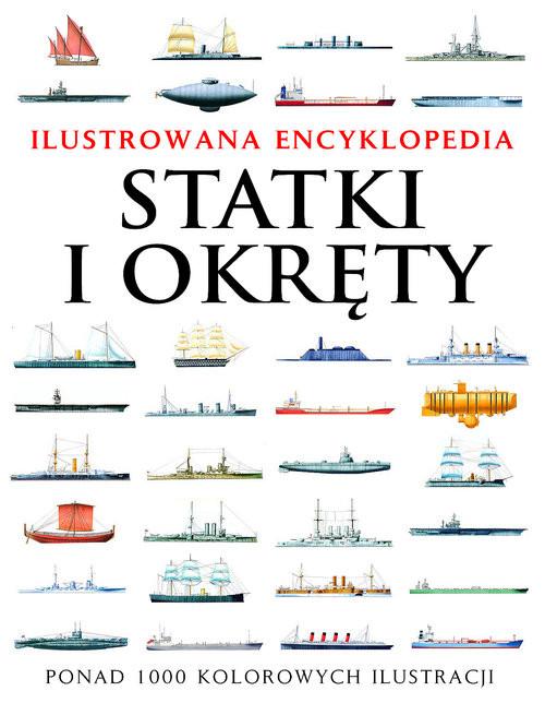 okładka Statki i okręty Ilustrowana encyklopedia, Książka | Ross David