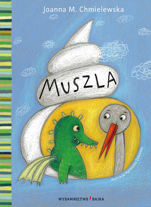 okładka Muszla, Książka | Chmielewska Joanna