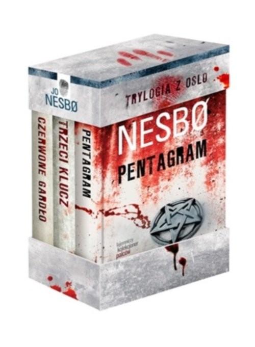 okładka Czerwone gardło / Trzeci klucz / Pentagram Pakiet, Książka   Nesbo Jo