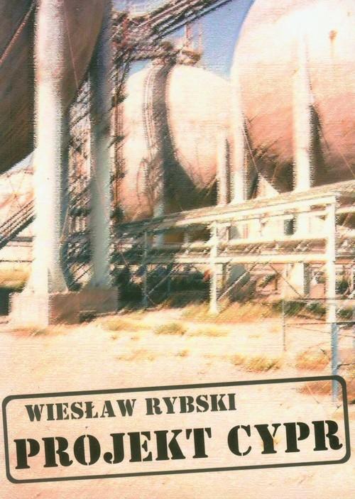 okładka Projekt Cypr, Książka | Rybski Wiesław