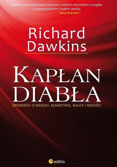 okładka Kapłan diabła Opowieści o nadziei, kłamstwie, nauce i miłości, Książka | Richard  Dawkins