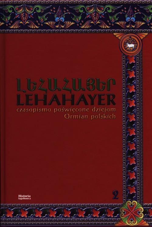 okładka Lehahayer 2, Książka |