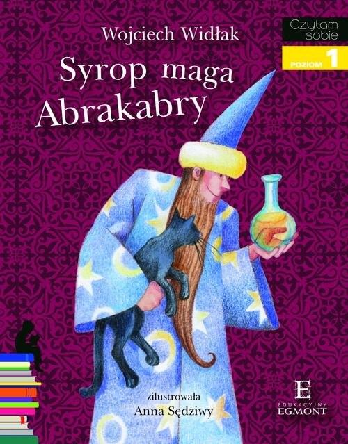 okładka Syrop maga Abrakabry Czytam sobie poziom 1, Książka | Widłak Wojciech