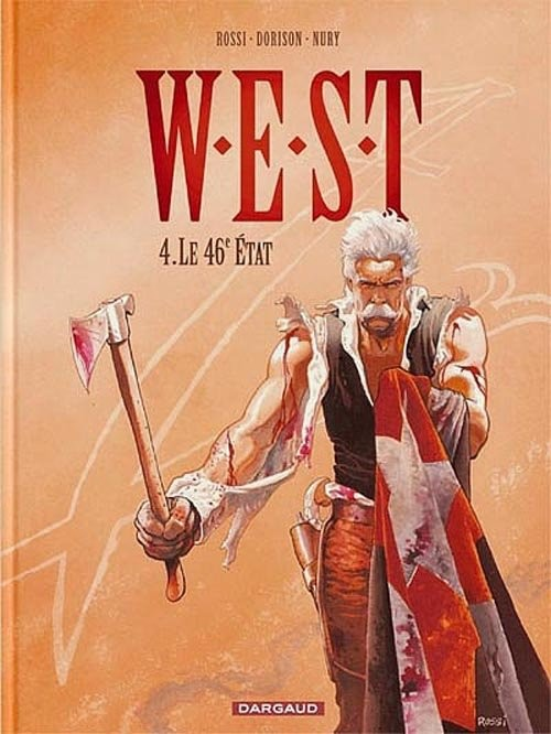 okładka W.E.S.T 4.46 Stan, Książka | Xavier Dorison, Fabien Nury