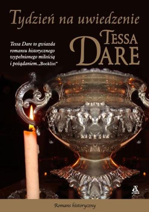 okładka Tydzień na uwiedzenie, Książka   Tessa Dare