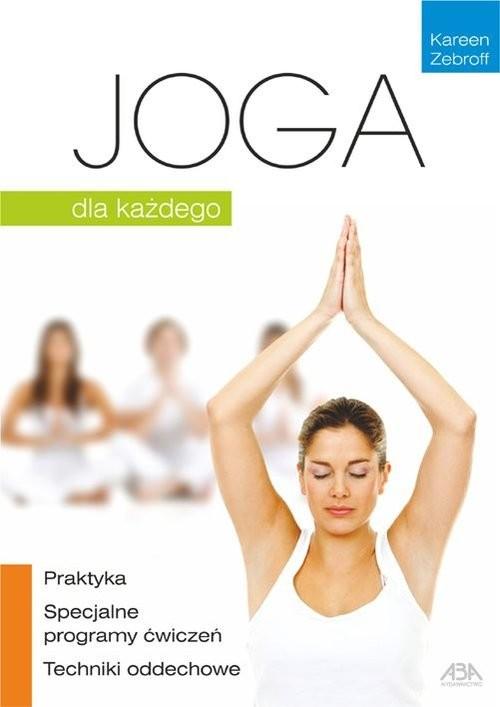 okładka Joga dla każdego, Książka | Zebroff Kareen