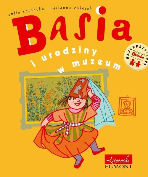 okładka Basia i urodziny w muzeum, Książka | Stanecka Zofia