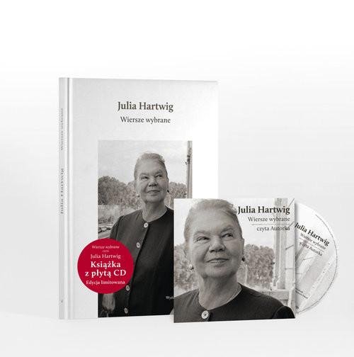 okładka Wiersze wybrane + CD, Książka   Julia Hartwig