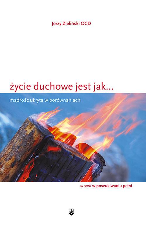 okładka Życie duchowe jest jak... Mądrość ukryta w porównaniach, Książka   Zieliński Jerzy
