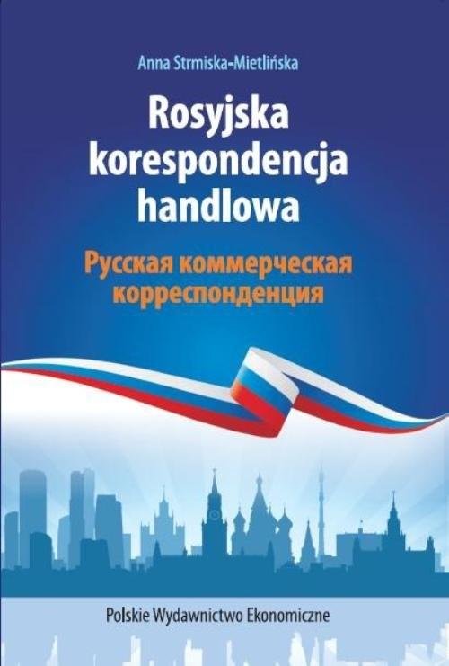 okładka Rosyjska korespondencja handlowa, Książka | Strmiska-Mietlińska Anna