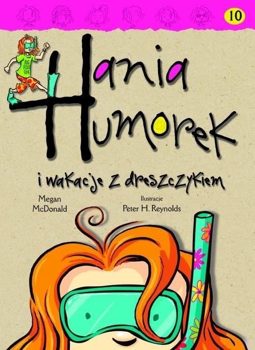 okładka Hania Humorek i wakacje z dreszczykiem, Książka | McDonald Megan