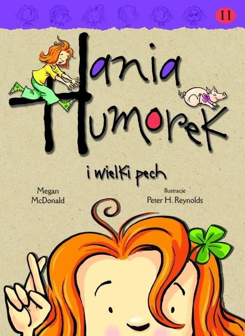 okładka Hania Humorek i wielki pech, Książka | McDonald Megan