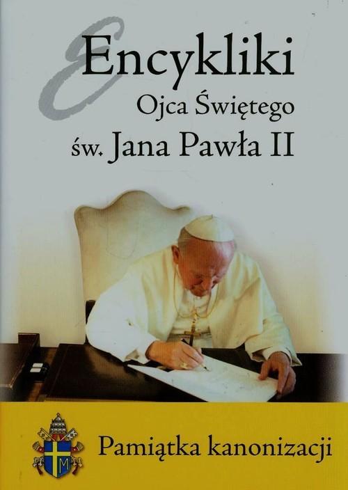 okładka Encykliki Ojca Świętego św. Jana Pawła II Pamiątka kanonizacji, Książka | Paweł II Jan