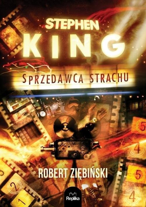 okładka Stephen King Sprzedawca strachu, Książka | Ziębiński Robert