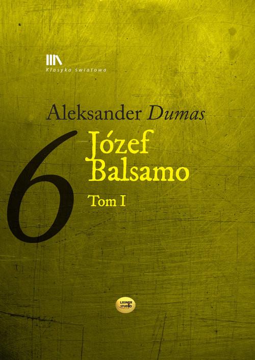 okładka Józef Balsamo Tom 1, Książka | Aleksander  Dumas