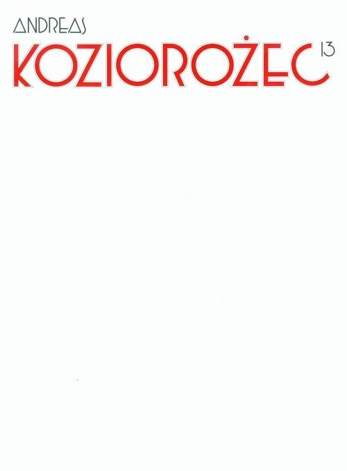 okładka Koziorożec 13, Książka   Andreas