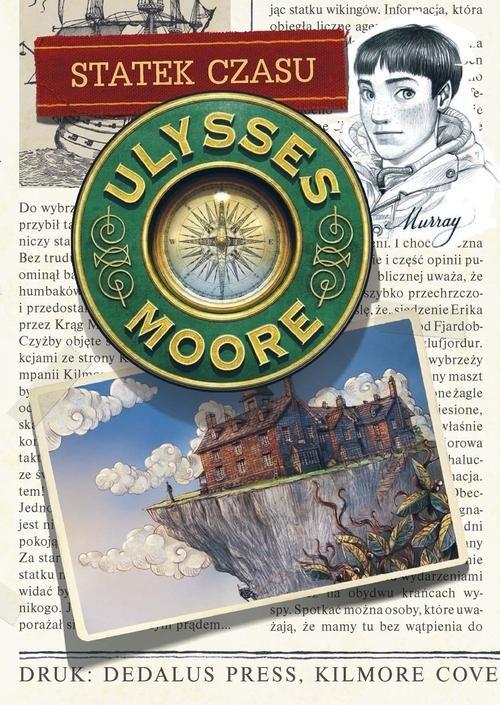 okładka Ulysses Moore 13 Statek czasu, Książka | Baccalario Pierdomenico