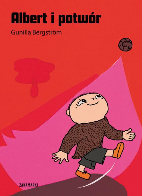 okładka Albert i potwórksiążka      Bergstrom Gunilla
