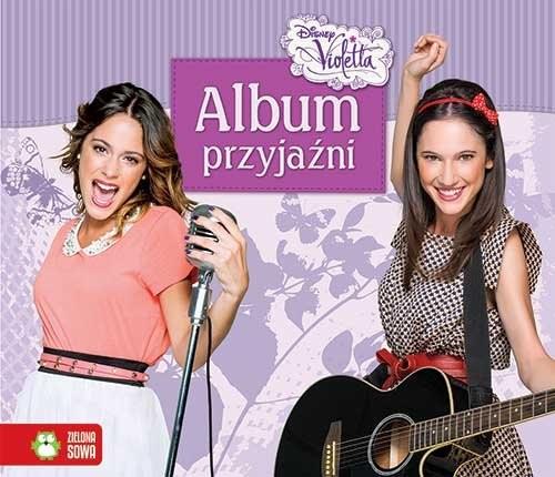 okładka Album przyjaźni Violetta, Książka   Agnieszka Skórzewska