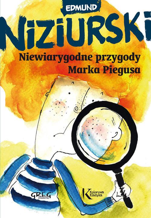 okładka Niewiarygodne przygody Marka Piegusaksiążka |  | Niziurski Edmund