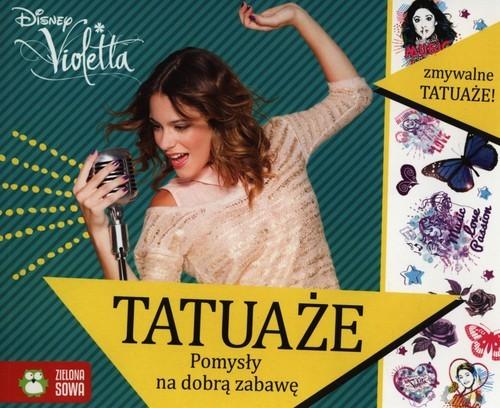 okładka Tatuaże duże - Violetta, Książka   Agnieszka Skórzewska