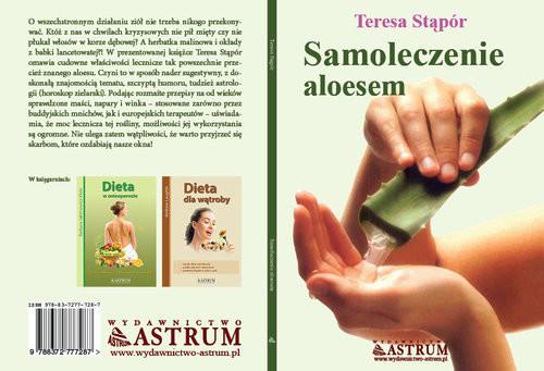 okładka Samoleczenie aloesem, Książka | Stąpór Teresa