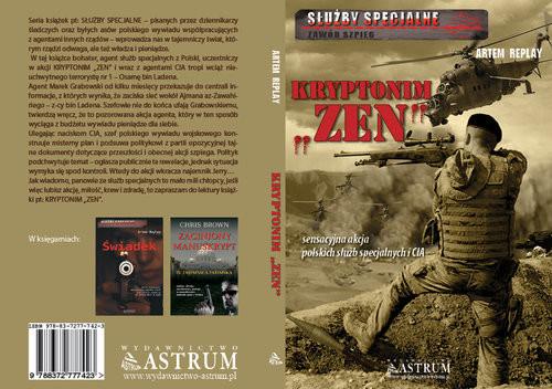 okładka Kryptonim Zen Służby specjalne. Zawód szpieg, Książka | Replay Artem
