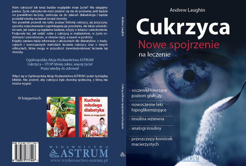 okładka Cukrzyca Nowe spojrzenie na leczenie, Książka | Laughin Andrew